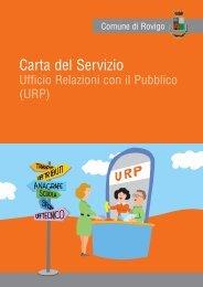 Carta Servizio Urp - Comune di Rovigo
