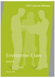 Environment Law Bulletin - January 2006 - IEMA