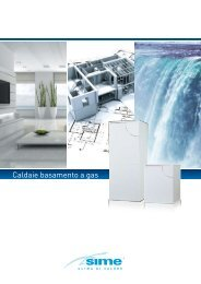 Caldaie basamento a gas - Certificazione energetica edifici