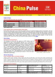 China Pulse - Volume 7 No. 8 - August, 2010 - CII