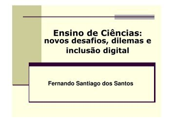 Adendo à Aula 6 - Fernando Santiago dos Santos