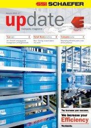 Company magazine - SSI Schäfer