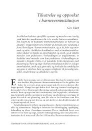 Last ned pdf (Ulset) (TFU 1/10) - Nova