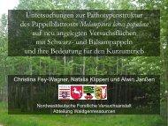 Untersuchungen zur Pathotypenstruktur des ... - FastWOOD
