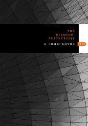 2009 Prospectus - Missouri Partnership