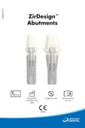 ZirDesign™ Abutments - Astra Tech