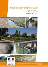 Actes du séminaire pluvial - Webissimo