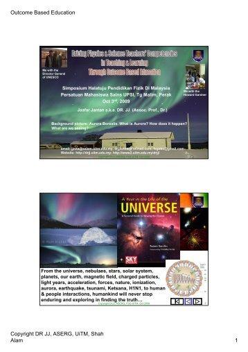 UPSI talkpdf-color - DrJJ - UiTM