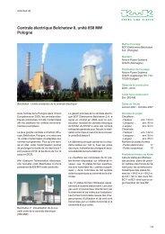 Centrale électrique Belchatow II, Block 858 MW, Pologne