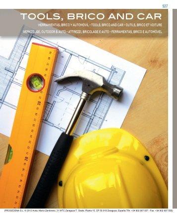 tools, brico and car - Progedena