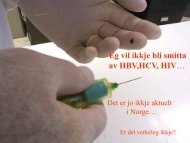 Førebyggjande tiltak mot blodsmitte - Helse Førde