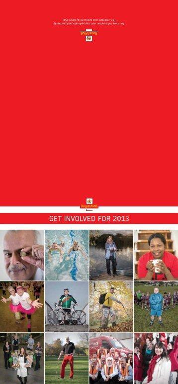 Charity Calendar 2013 - myroyalmail