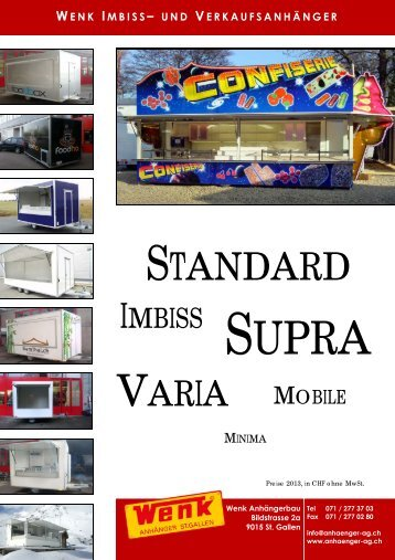 IMBISS-Katalog (PDF) - Wenk Fust