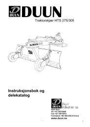 Instruksjonsbok og delekatalog