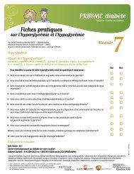 Module 7 : Fiches pratiques - Agence de la santé et des services ...