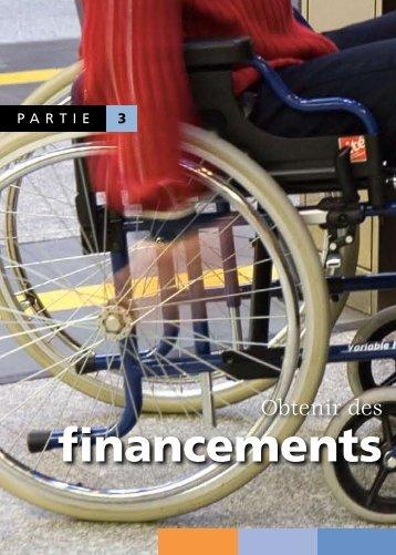 financements - Tourisme & Handicap
