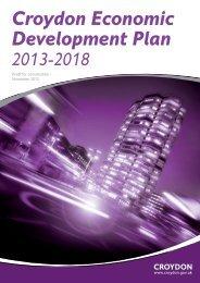 Croydon Economic Development Plan 2013-2018