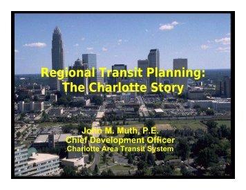 Charlotte, NC - Nashville Area MPO