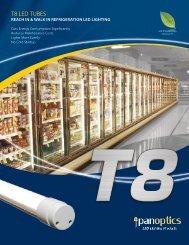 reach in & walk in refrigeration led lighting