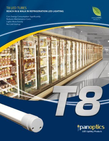 reach in & walk in refrigeration led lighting