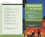 Sommer im Hof 2012 - Liechtensteinische Landesbank