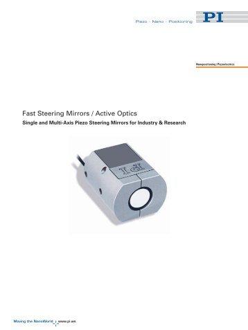 (Steering Mirrors) Catalog - PZT & Piezo Actuators: Sub Nanometer ...
