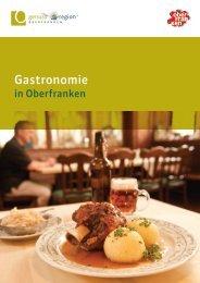 Gastronomie in Oberfranken - Das Fichtelgebirge
