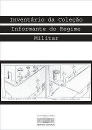 Inventário da Coleção Informante do Regime ... - Arquivo Nacional