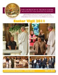 Easter Vigil 2011 - Church of St. Francis Xavier