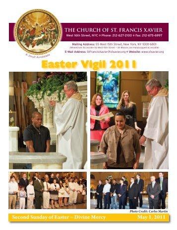 Easter Vigil 2011 - Church of St. Francis Xavier