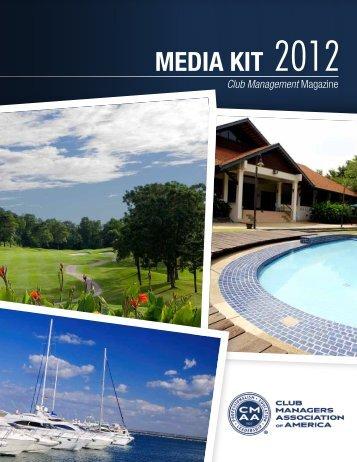 MEDIA KIT 2012 - CMAA