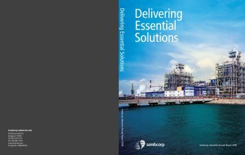 Download Annual Report 2008 - Sembcorp