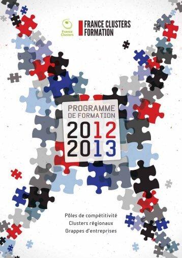 Télécharger le catalogue de Formation - France Clusters