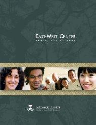 Front Matter - East-West Center