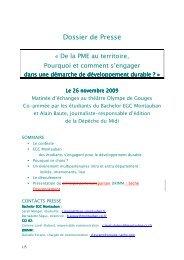Dossier de Presse - Montauban.com