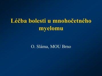 Léčba bolesti - Nadační fond Česká myelomová skupina