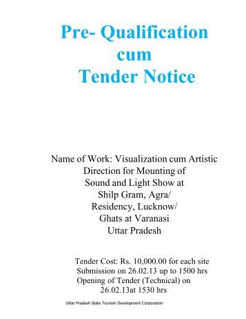 uttar pradesh tourism tenders dating
