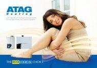 ATAG Product brochure - ATAG Boilers