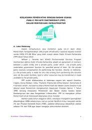 kerjasama pemerintah dengan badan usaha - Website Jaringan ...