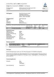 GUTACHTEN zur ABE Nr. 44665 nach §22 StVZO ... - Autoteilefrau.eu