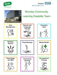 Bromley Community Learning Disability Team