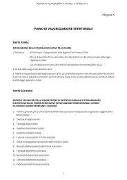 DGR 665 dell'11 aprile 2013 (allegato delibera) - Sistema delle ...