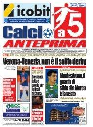 calcio a 5 anteprima 18/10 CN