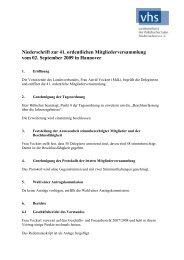 Niederschrift zur 41. ordentlichen Mitgliederversammlung vom 02 ...