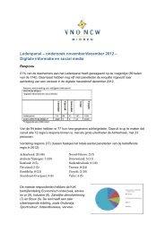 Analyse Digitale informatie en social media - VNO-NCW Midden