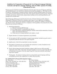 Guidelines for Preparation of Proposals for Use of Speech ...