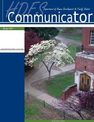 HDFS Communicator, Spring 2009 - Human Development and ...