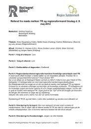 Referat fra TR-møde den 8. maj 2012