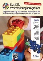 Das KiTa Weiterbildungsprogramm - Förde-vhs