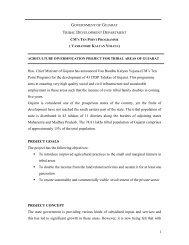 Vadi Project - Vanbandhu Kalyan Yojana - Government of Gujarat
